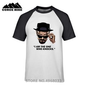 Top Quality 100% Algodão T-shirt Heisenberg Eu sou o único que sabe casual manga curta quebrando impressão ruim T shirt Moda legal T