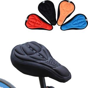Bicycle Saddle 3D suave bicicleta Seat Cover Confortável espuma antiderrapantes Almofada Ciclismo Saddle para Bicicleta Acessórios respirável