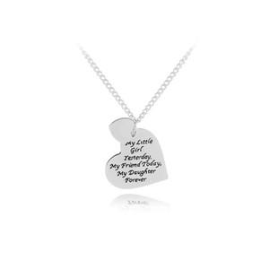 моя маленькая девочка вчера ожерелья мой друг сегодня ожерелье моя дочь навсегда заявление ожерелье для подарок на день рождения ювелирные изделия