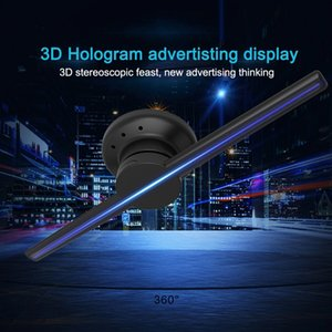 2,020 새로운 3 차원 홀로 그래픽 광고 기계 42cm 팬 회전 표시 LED (320) 프로젝션 스크린 LED