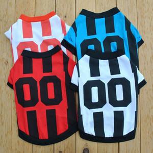 Ropa de Perros Classic Sport Style T-shirts pour chiens Roupas respirants Roupas Para Pet