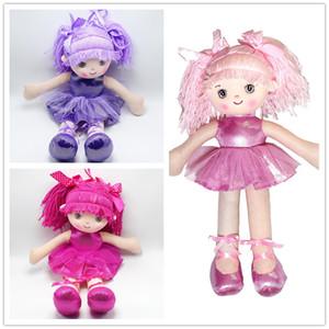 Bambole di pezza di bambole di struzzo di 3 colori di 40cm che ballano le figure morbide della peluche delle figure della ragazza di peluche i bambini scherza i regali B11