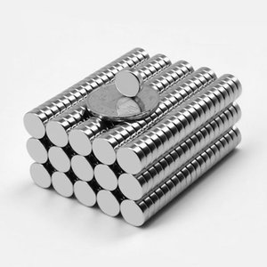 100pcs mini-aimants ronds 10 * 1mm-10mm plusieurs tailles disque magnétique néodyme super fort de terre rare petit aimant de réfrigérateur Livraison gratuite