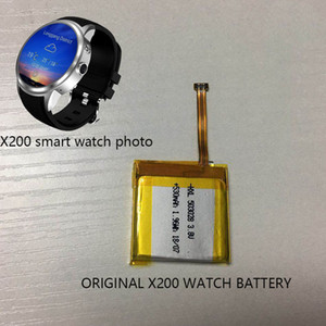 2019 Rechargeable Polymer original Durable 530mAH watch Battery For Smart Watch x200 smartwatch phone watch saat wristwatch