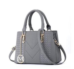 MICKY KEN la señora PU de las n diseñador luxurybags hombro bolsas de cuero bolsos de marca bolso de la bolsa de asas femenina de calidad superior