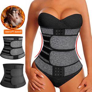 Faja Shapewear Neopren Sauna Waist Trainer Korsett Sweat Gürtel für Frauen Weight Loss Compression Trimmer Workout Fitness