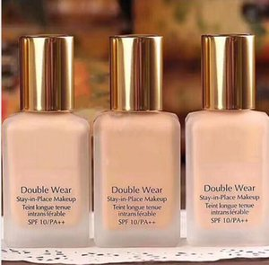 NEW for Coming Christams Double wear Foundation Liquid 30ML Stay in Place Makeup 1oz intransferable 3 Colors liquid foundation