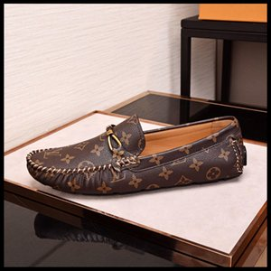 Louis vuitton  Herren hochwertige Designer Sport Herrenschuhe Leder atmungsaktive Schuhe, Outdoor-Reise-Skating-Spitze Original-Box eine Generation
