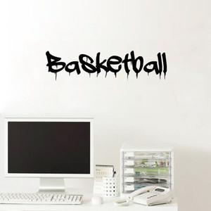 Wall Sticker Sticker murale di sport di pallacanestro di alta qualità creativa casa Pallacanestro Quote Wall Decal Ragazzi della camera da letto