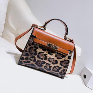 Nice2019 tendance impression léopard ma'am kylie unique épaule pu messager portable paquet femme