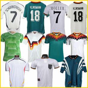 Top Thaïlande 1990 1994 1988 Allemagne Retro Littbarski BALLACK Soccer Jersey 1996 1998 KLINSMANN Matthias maison 2006 2004 KALKBRENNER JERSEY