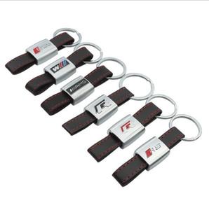 Keychain Chaveiro Keyring anel de metal Couro Car Touran Styling Um grande presente para si mesmo e seus parentes e amigos