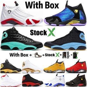 2020 14 14s DB Doernbecher Canday Cane Erkek Basketbol Ayakkabı Tasarımcısı 13 13s Chris Paul Dışarıda Kara Kedi Spor Spor ayakkabılar Erkek Eğitmenler Size13