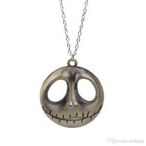 designer jewelry Jack skull pendant necklace nightmare before christmas character pendant necklace for unisex hot fashion