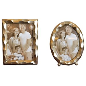 Resin Frame Vintage Photo Frame Wedding Home Retro Decor Ornaments Crafts Photo Frame Gift 7 Inch