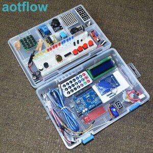 La más nueva versión de RFID Starter Kit para Arduino UNO R3 mejorada Learning Suite con la caja al por menor