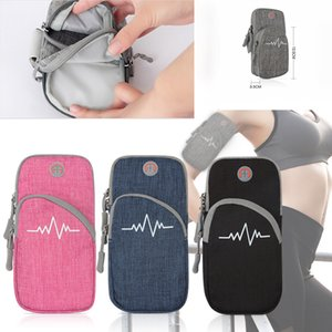 Sport bras Sac, unisexe Universal Brassards exercice entraînement Courir Gym Brassards Phone Holder Housse avec écouteur trou