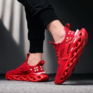 CXJYWMJL Hommes Chaussures de sport de grande taille 9? 16 Léger Respirant Formation Mode confortable stretch Chaussures de course Chaussures Casual 6857