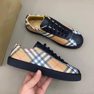 Burberry shoes 2020 New Classic Low-Top-Brettschuhe modische Stiefeletten Damen sportlich Schuhe thermische Leder weichen Sohlen rx320051001