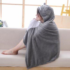 AAA Nuevo juguete 145 * 70cm de peluche de felpa de Totoro cabo manta manta Mantys Cabo para los niños de Navidad año nuevo regalos S200115