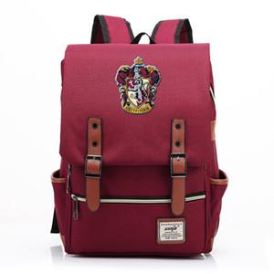 Para el diseñador bolsa Vip Enlace magia Hogwarts Ravenclaw Slytherin Gryffindor Boy School Girl Estudiante adolescentes Schoolbags Mujeres Hombres Mochila