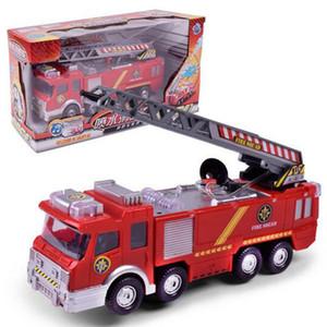 Kamyon İtfaiye kamyonu Juguetes İtfaiyeci Sam Yangın Araç Araç Eğitim Boy Çocuklar için Su Toy Sprey