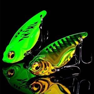 Iscas 1pc 7 10g 15g metal VIB Lure Olhos 3D Lápis Balancer Colher Jig Pintura Pesca atração Hard Bait Fishing