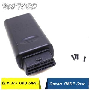 OBDII 16pin Female Angle Connector 16 Pin Obd2 Connector Obd Obd 2 Female Wire Sockets Plug Ii Adapter ELM327