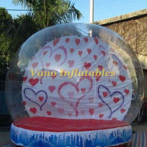 Inflatable Snow Ball 3m High Snowing Globe Showball Vano Inflatables Factory Wholesale Free Pump Free Shipping