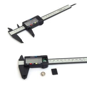 150mm LCD 6inch électronique numérique en fibre de carbone Vernier Caliper Jauge micrométrique Caliper plastique mengmeng666
