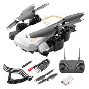 LF609 Wifi FPV Складная RC Drone с 4K HD Высота камеры Удерживать 3D Flips Headless Mode RC Вертолет Самолет T191211