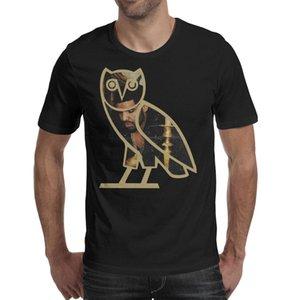 Fashion Mens Drake in Logo black Round neck t shirt Design Cute shirts Thinking Drake-rhythm-Owl-melody-topszn ovoxo Art Take Care The