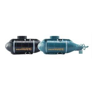 777-216 Mini RC Submarine Lancha Remote Control Pigboat Simulação Modelo Toy Radio Control sem fio RC Submarine Modelo Brinquedos
