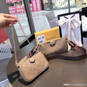 Diseñador-2020 Marcas bolso de las mujeres de una silla oblicua embrague de lujo bolsas de hombro Crossbody de bolsas de mensajero bolsas de sillín Monedero Christian100 1s181