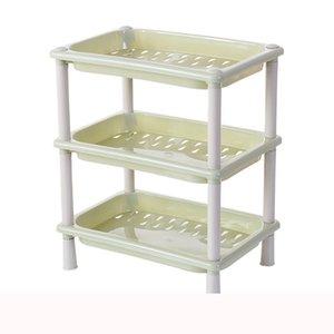 3 Tier Plastic Corner Organizer Bathroom Kitchen Storage Rack Holder Pratical Useful Organizer Save Space 18 x 26 x 32cm