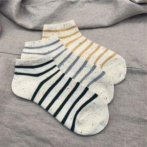 Fashion Summer Mens Sport Sock Men Women High Quality Cotton Gray Boat Sock Men Basketball Sock Men's Underwear One Size
