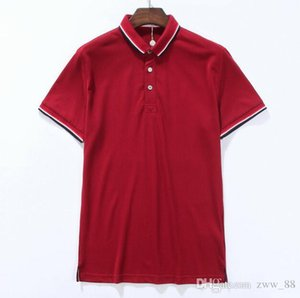 New Arrival 2018 hliantao brand Summer Style Short Sleeve 4 Color Color block Polo Shirts Brand Mens Polos shirt plus size M-XXL 4278