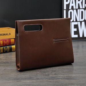 Мужчины сумки Портфели Lawyer кожа сумка портативный компьютер сумка сумки плеча Водонепроницаемая офиса Портативная сумка для Macbook Huawei горячего