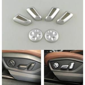 ABS Chrom-Auto-Adjustment Drehen Sitz Knopf Adjust-Abdeckungs-Ordnung für Audi A4L 2016-2017