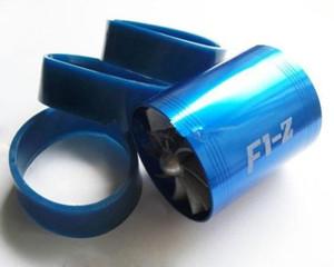 F1-Z DOUBLE PRLER TURBO нагнетатель воздуха, всасываемого FUEL SAVER ECO FAN Авто Автоаксессуары Styling