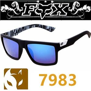 7983 액션 폭스 태양 안경 패션 남자 브랜드 자전거 선글라스 남성 여성 야외 스포츠 선글라스 운전 자전거 태양 안경 7 색