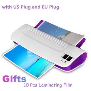 Professionale termica Ufficio caldo e freddo laminatore Macchina per la A4 Documento Foto Blister Packaging Plastic Film Roll Laminatore