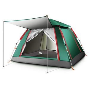 3-4 Persona Tende automatico impermeabile escursione di campeggio tenda esterna Tenda Grande Famiglia Portable Anti-UV multiuso Keoghs