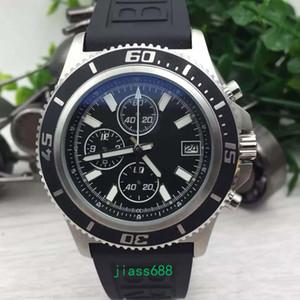 Sıcak Superocean Chronograph 42 BR 1884 Chronomat Colt Siyah Çerçeve Aerospacel Erkekler Saatı A13311C9 Erkek Saatler