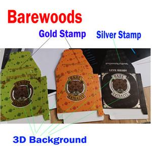 Qualität Unberührte BAREWOODS Bare 710 Auszüge Papierverpackungen Box für Wachs-Konzentrat Distillate Premium-Trim Nug Run Live Resin
