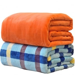 كورال الصوف بطانية هدية تكييف الهواء بطانية مخصص الفانيلا بطانية اليوغا غطاء الطباعة بلون