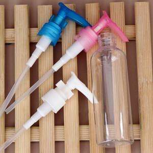 100ml Cosmétiques conteneurs vides bouteilles rechargées crème pompe Pressée Vaporiser Body Wash flacon peau Shampooing Lotion KKA7740
