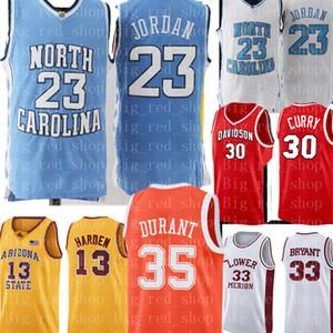 MJ 23 Michael North Carolina Tar Heels Basketball Maillots UCLA Russell Westbrook 0 Reggie Miller 31 Jersey Cheap de gros