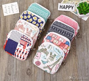 Hot Housekeep Lovely Women Girl Cute Sanitary Pad organizador monedero titular servilleta toalla bolsas de almacenamiento bolsa de cosméticos bolsa de servilleta sanitaria
