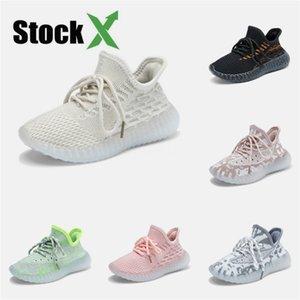 2020 Nueva Fashiony3 Zapatos Casual Botas Kanye West Y-3 Rojo Blanco Negro de alta Top zapatillas de deporte de los niños impermeable de cuero genuino # 136